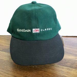 NWT vintage Reebok cap hat strapback 90's